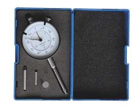 Messuhr 30 mm mit Verlängerung 20 + 30 mm, Tellereinsatz ø 10 mm, Ablesung 0,01 mm