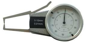 Außen-Schnellmesstaster mit Uhr (0 - 10 bis 30 - 50 mm)
