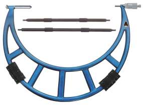 Bügelmessschraube / Mikrometer mit großem Messbereich, Spindelsteigung 1,0 mm