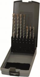 7-tlg. SDS-plus Hammerbohrer-Satz PGM zertifiziert, Betonbohrer, Steinbohrer, 110 / 160 mm Längen