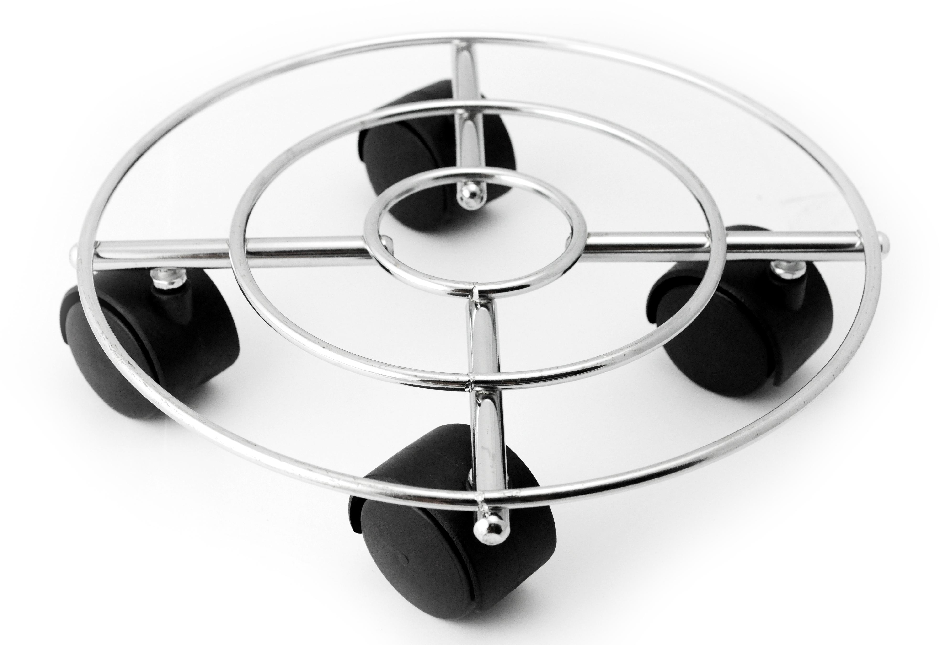 blumenuntersetzer rolluntersetzer pflanzen untergestell rund mit rollen 30 cm. Black Bedroom Furniture Sets. Home Design Ideas