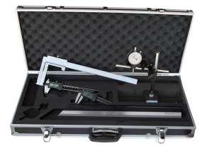 Bremsenprüfsatz 6-teilig, mit Bremstrommel-Messschieber 40 - 340 mm, ANALOG / DIGITAL
