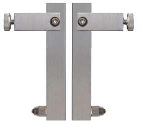 Messeinsätze für Digital-Universal-Messschieber / Schieblehre, für Aufnahme von Messuhren-Einsätzen