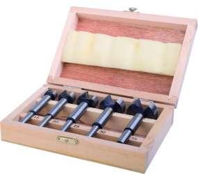5-tlg. Forstnerbohrersatz, 15 - 20 - 25 - 30 - 35 mm