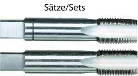 HSSG-STANDARD-Handgewindebohrer DIN 2181, 2-teiliger Satz