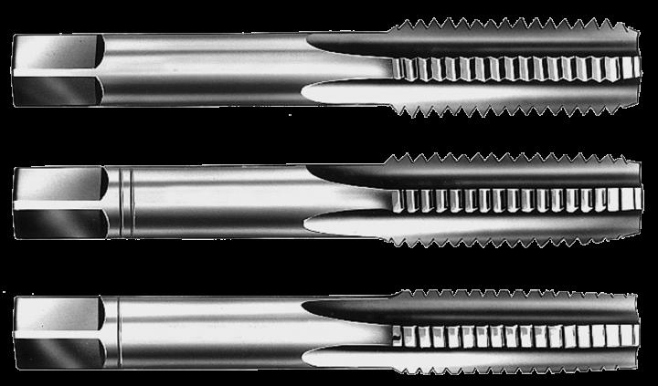 Handgewindebohrersatz HSSG Handgewindebohrer 3-tlg Satz M 10 x 1,5 Gewindeschneider Gewindebohrer