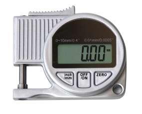 Digital-Dicken-Messgerät, Teller ø 5,5 mm, Ausladung 10mm