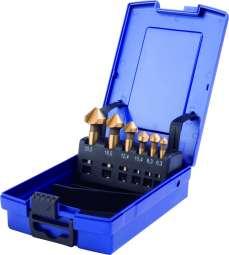 HSS-STANDARD-Kegelsenker 90° DIN 335 Form C TIN-beschichtet