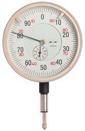 Gross-Messuhr DIN 878, ø 80 oder 100 mm, Ablesung 0,01 mm