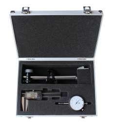 DIGITAL Bremsscheibenprüfsatz 3-teilig, Messuhr Magnet-Messstativ Bremsscheiben-Messschieber