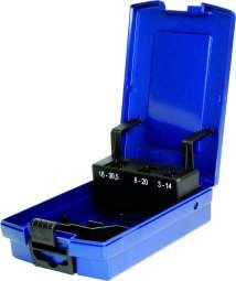 PROFI-Rose-Kunststoffkassette blau, leer-Copy