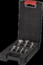 7-tlg. Satz Kegelsenker mit 3 Schneiden DIN 335 C 90°, HSS / HSSE CO 5% Cobalt, Gr.: 6,3 - 25 mm