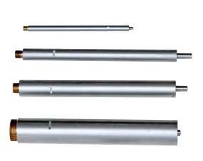 Verlängerungen für Dreipunkt-Innen-Messschrauben / Mikrometer für Sacklochbohrungen mit Einstellring