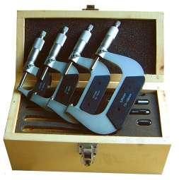 Bügelmessschrauben- / Mikrometer-Satz